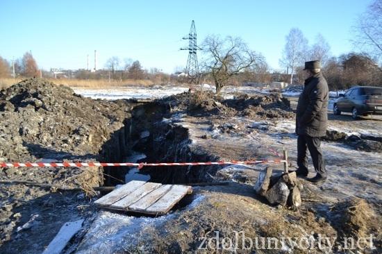 аварія каналізації здолбунів (3)