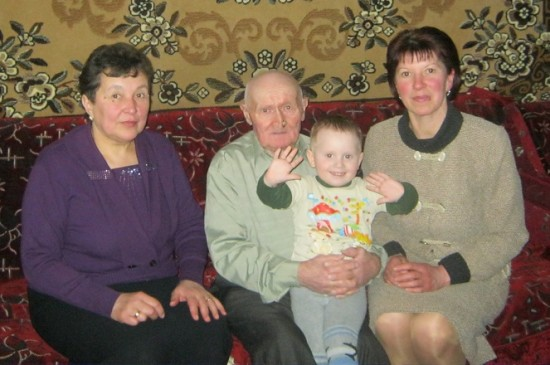 відвідини дідуся