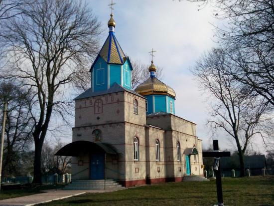 церква новосілки