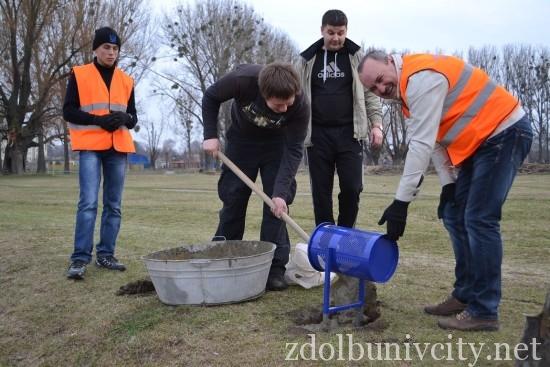 волонтери в гідропарку (21)