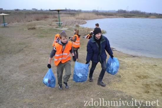 волонтери в гідропарку (26)