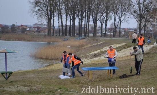волонтери в гідропарку (5)