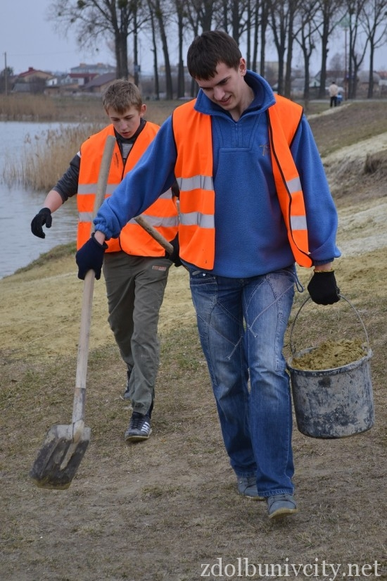 волонтери в гідропарку (7)