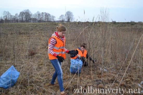 волонтери в гідропарку (9)