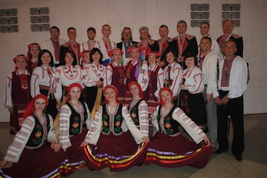 ансамбль пісні і танцю Кужіль Здолбунівського районного будинку культури