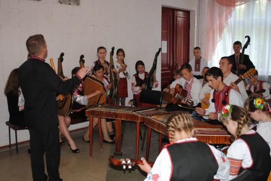 зразковий оркестр народних інструментів будинку культури с. Здовбиця