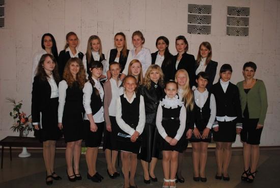 зразковий хор Здолбунівської музичної школи