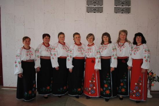 народний аматорський вокальний ансамбль Калинонька будинку культури с. Глинськ