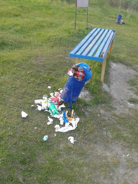 смітник у гідропарку