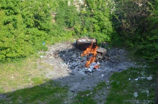 спалювання продукції