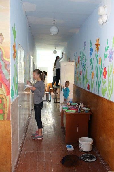 розмальована школа у Здолбунові (3)