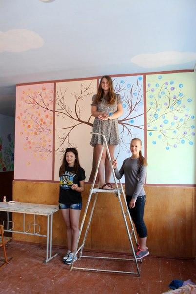 розмальована школа у Здолбунові (4)