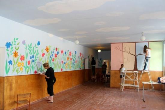розмальована школа у Здолбунові (5)