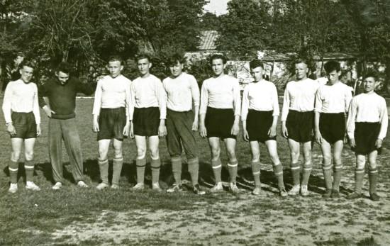 фото № 3 Фут. команда СШ1 1961.