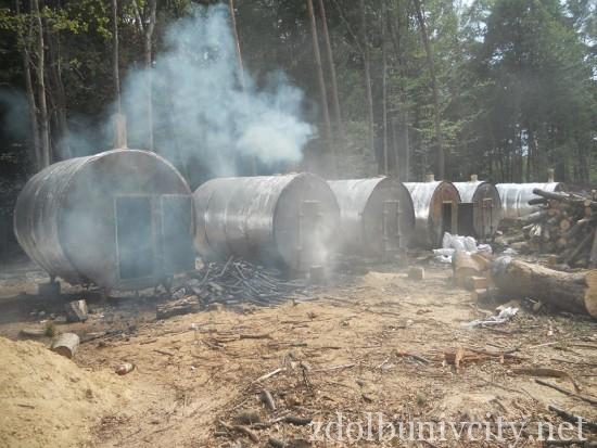 випалювання вугілля на Здолбунівщині (18)
