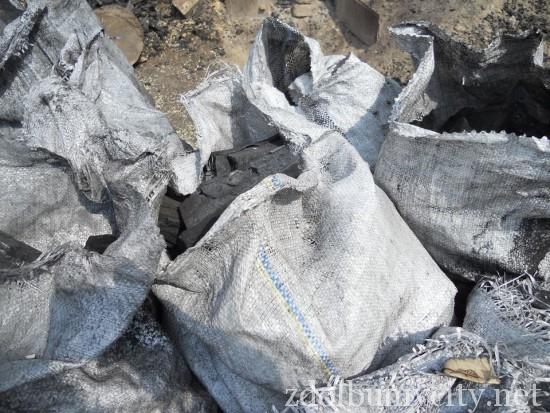 випалювання вугілля на Здолбунівщині (2)