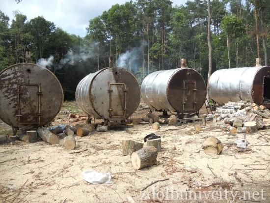 випалювання вугілля на Здолбунівщині (6)