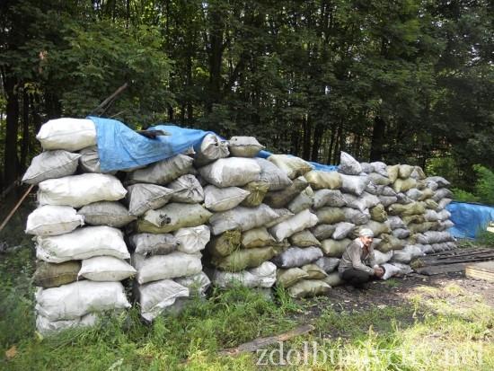 випалювання вугілля на Здолбунівщині (7)