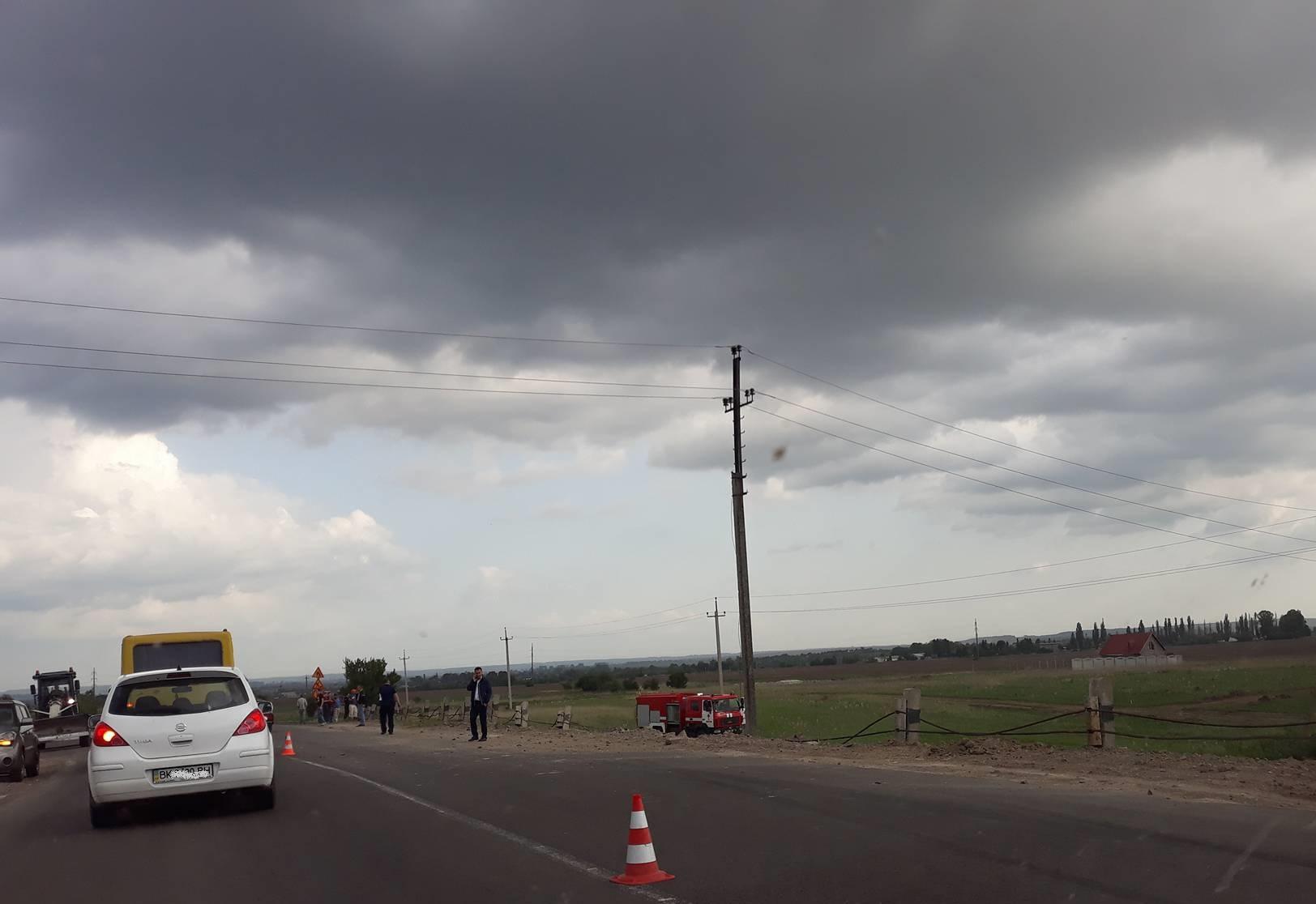 УЗдобунові під час ДТП загинув водій тапасажир Опеля